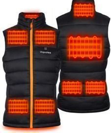 Lightweight Heated Vest Women with Battery Pack