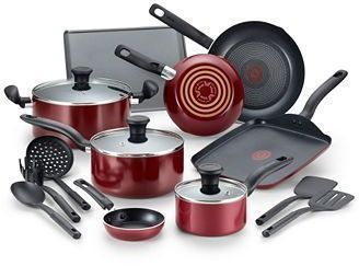 T-Fal 16-Pc. Nonstick Aluminum Cookware Set