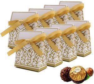 50PCS Mini Wedding Favor Boxes