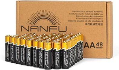 48 AA Premium LR6 Alkaline Batteries