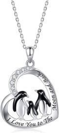 Sterling Silver Penguin Necklace