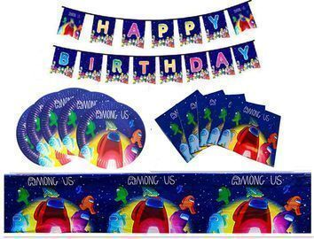 Among Us Party Supplies