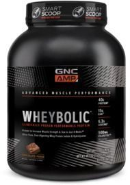 B1G1 50% Off Whey Protein | Two GNC Amp Wheybolic Whey Proteins