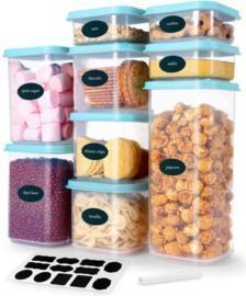 9 pcs Airtight Food Storage Container Set with Lids