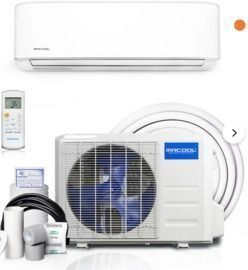 MrCool Advantage 12,000-BTU Ductless Mini Split Air Conditioner w/ Heater