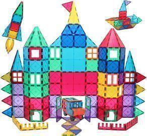 Manve 130pc. Magnetic Blocks/Tiles Toy Set