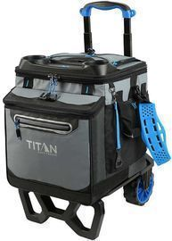 Titan Deep Freeze 60 Rolling Collapsible Cooler