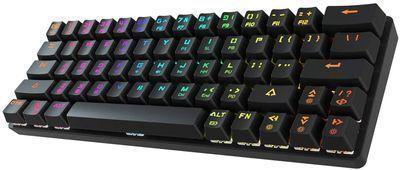 Dierya Wireless LED Backlit Mechanical Keyboard
