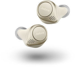 Jabra Elite 75t True Wireless Earbuds (Certified Refurbished, Various Colors)