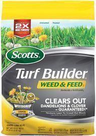 Scotts Turf Builder Weed & Feed 5,000-Sq. Ft. Bag