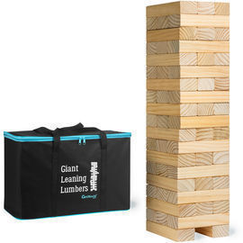 56pc GetMovin' Sports Giant Leaning Lumbers Stacking Game