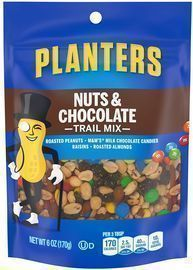 Planters Nuts & Chocolate M&M's Trail Mix