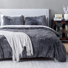 Bedsure Fluffy Duvet Cover Set