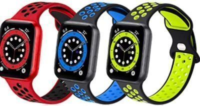 Sport Silicone Bands Compatible with Apple Watch