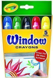 Crayola Washable Window Crayons (5-Count)