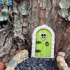 DIY Miniature Wood Tree Door