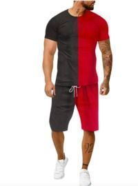 Men's Short Sleeves Shorts Outfits