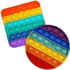2pk Push Pop Bubble Sensory Fidget Toys