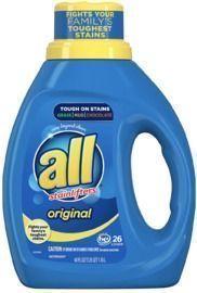 ALL Liquid Laundry Detergent 40oz