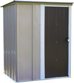 Arrow 5x4ft. Brentwood Steel Storage Shed