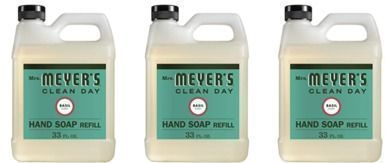 Mrs. Meyer's Clean Day Basil Hand Soap Refill x 3