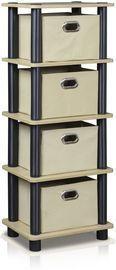 Furinno Laci 4-Bins System Rack