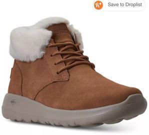 Skechers Women's On the Go Joy Lush Suede Boots