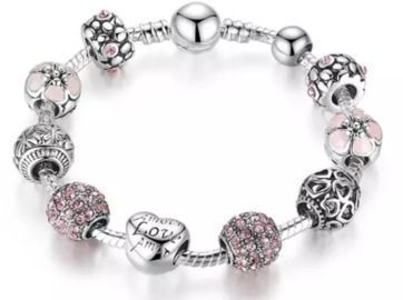 Mother's Day Swarovski Crystal Heart Bracelet