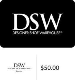 $50 DSW Gift Card (Email Delivery)