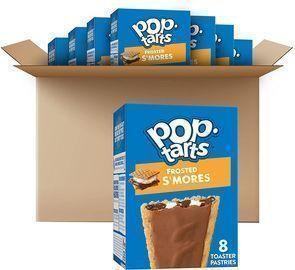 8pk of Kellogg's Pop-Tarts Frosted S'mores