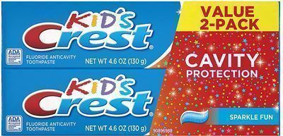 2pk of Crest Kid's Cavity Protection Toothpaste