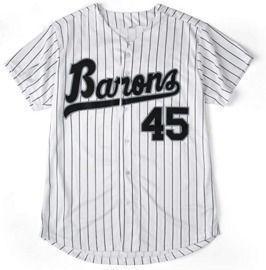 Jordan #45 Barons Baseball Jersey