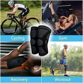 2 Pack Knee Compression Sleeves