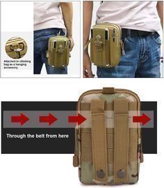 Outdoor Multi-Purpose Tactical Waist Belt Bag