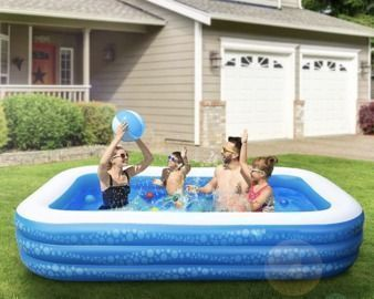 118 X 69 X 21 Inflatable Swimming Pool