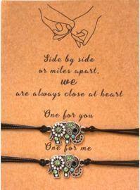 2 Pcs Pinky Promise Bracelet