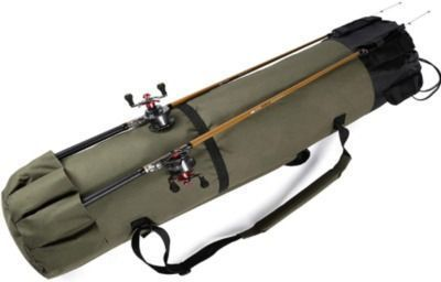 Durable Fishing Rods and Reels Travel Carrying Case