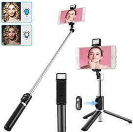 Selfie Stick with Light
