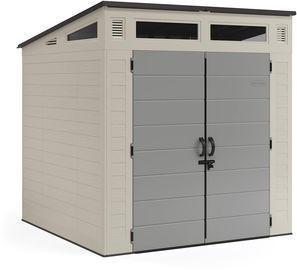 Suncast 7' x 7' Modernist Resin Storage Shed