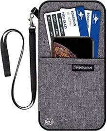 Waterproof Travel Wallet with Neck Strap