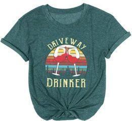 Women's Driveway Drinker Shirt