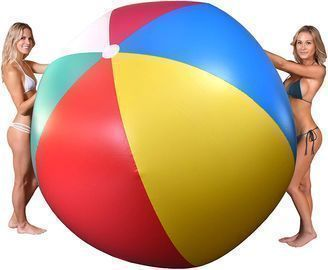 GoFloats 6' Giant Inflatable Beach Ball