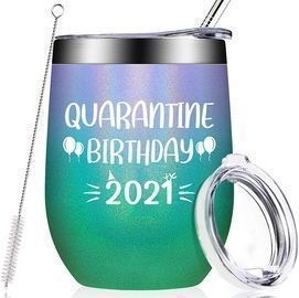 Quarantine Birthday 2021 Tumbler