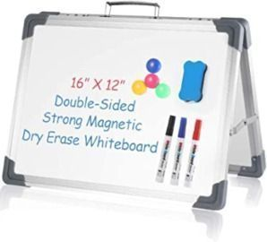 Foldable Dry Erase Board + Accessories