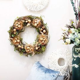 Rustic Artificial Wreaths