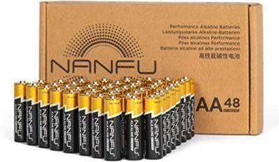 48 Long Lasting AA Batteries