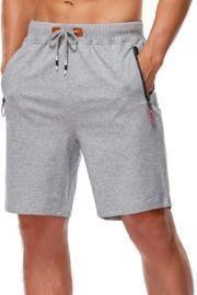 Elastic Waist Drawstring Summer Shorts