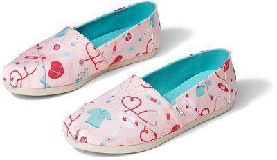 TOMS Alpargata Healthcare Heroes Shoes