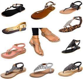 Various Women's Sandals