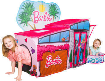 Barbie Dreamhouse Pop Up Tent w/ Ball Pit and Balls